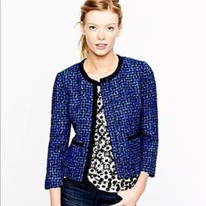 J. Crew Lady Jacket Tweed Boucle Career Fall